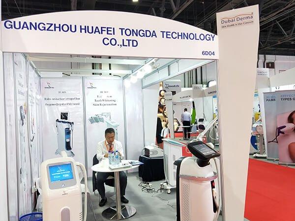 Dubai Derma 2018 HuafeiMedical laser
