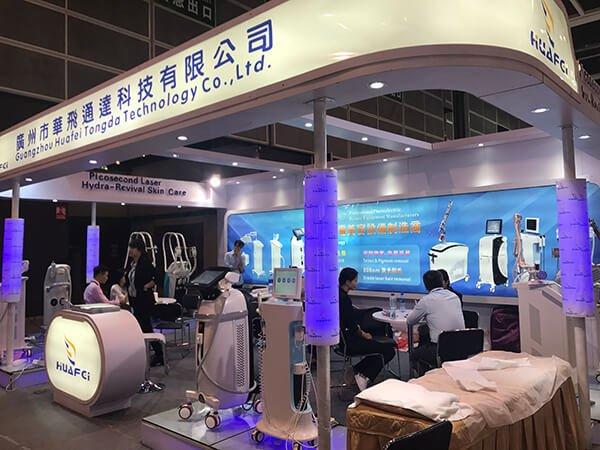 Hongkong Cosmoprof 2017 HuafeiMedical laser