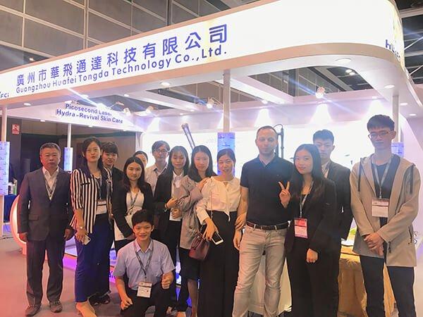 Hongkong Cosmoprof 2018 HuafeiMedical laser