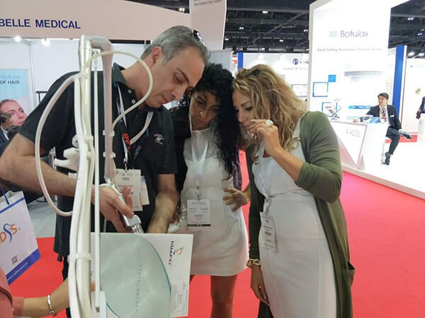 Moscow Intercharm 2018 HuafeiMedical laser