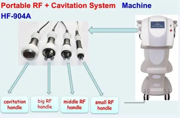RF Cavitation Skin Tightening and Body Slimming Machine DT-904A