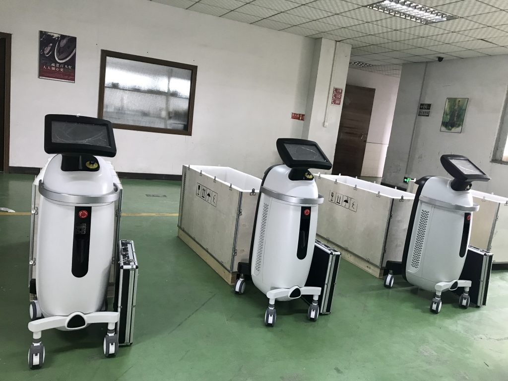 800W Diode Laser Hair removal